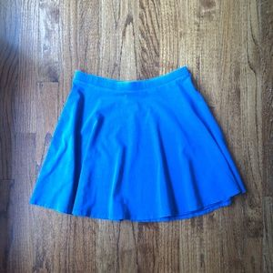 Forever 21 Blue Mini Skirt